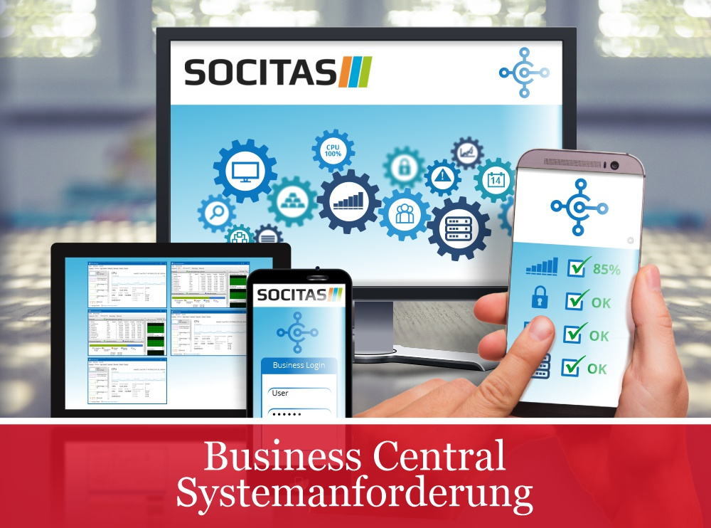 business central systemanforderungen