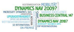 NAV 2009, Business Central 14, Dynamics NAV 2018